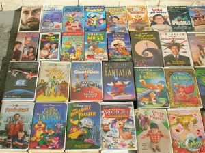 Massive Vintage VHS Classic Movie Video Tape Cassette Collection ONLY $2 EACH for Sale in Sunrise, FL