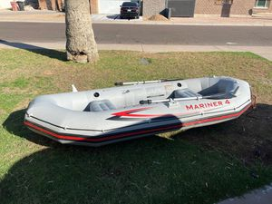 Mariner 4 inflatable boat by intex for Sale in Scottsdale, AZ