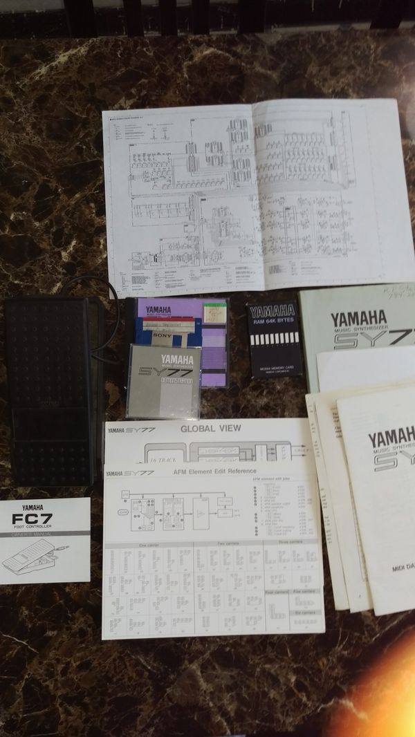 Yamaha Sy77 Sound Cards