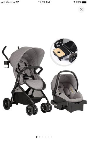 Evenflo Sibby Travel system-Mineral Grey for Sale in Norwalk, CT