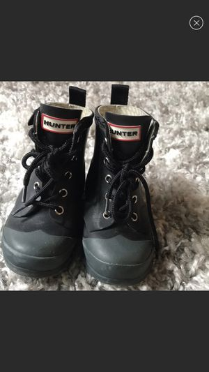 Toddler Lace Up Hunter Boots for Sale in Seattle, WA
