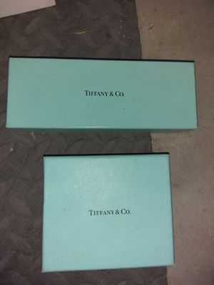 Tiffany Jewelry Boxes for Sale in Rancho Cucamonga, CA
