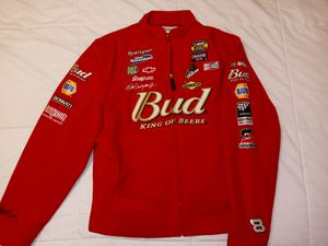 Ladies Chase authentic Dale Earnhardt Budweiser jacket for Sale in St. Petersburg, FL