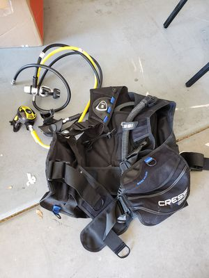 Cressi BCD starter pack- small for Sale in San Diego, CA