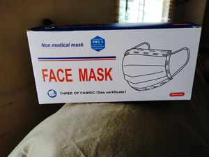 Face mask..50 pieces in excellent condition for Sale in Alhambra, CA