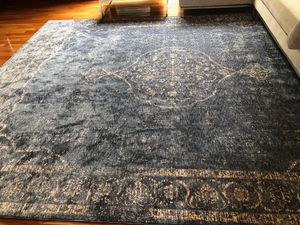 8/10 distressed design rug for Sale in Beverly Hills, CA