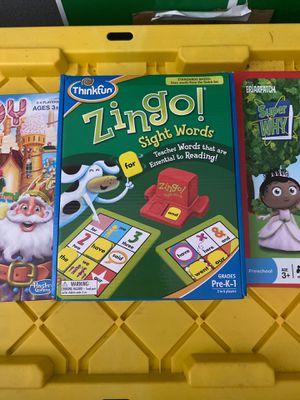 Educational kids games for Sale in Bradenton, FL
