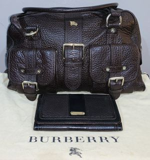 Authentic Large Burberry Bag & Wallet for Sale in Carson, CA