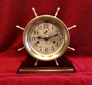 Seth Thomas Ships bell eight day clock for Sale in Cape Coral, FL