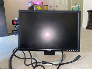 Large dell computer monitor for Sale in Georgetown, TX