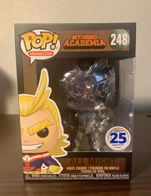ALL MIGHT FUNIMATION EXCLUSIVE FUNKO POP MY HERO ACADEMIA for Sale in Moreno Valley, CA