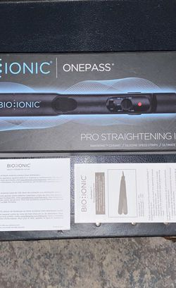 "Bio Ionic - One Pass Pro Straightening Iron 1"" (Nano Ionic Technology) for Sale in New York,  NY"