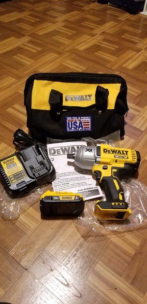 """Dewalt 1/2"""" Impact Wrench Brushless XR High torque kit 20V for Sale in Norwalk, CA"""