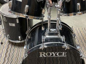 Royce 4-piece Drumset Tom-toms & Bass Drum for Sale in Kirkland,  WA