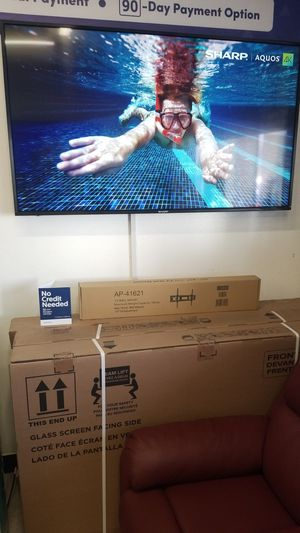 60 inch tv sharp 4k smart $379.99 cash or financing available $0 down for Sale in Montclair, CA