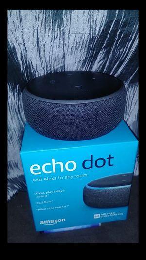 Echo Dot 3rd Generation for Sale in Dallas, TX