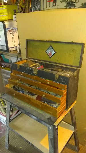 Machinest. Tool box with tools in it for Sale in Orland Hills, IL