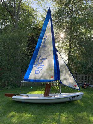 Like new Pico sailboat for Sale in Midland, MI