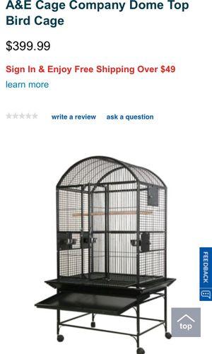A&E Cage Company Dome Top Bird Cage for Sale in Pompano Beach, FL