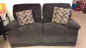 Gently used fabric automatic reclining couches. Sold together or separate. for Sale in Falls Church, VA