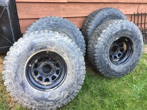 "Mud Tires from Ford Bronco 37"" Goodyear Wrangler for Sale in Park Ridge, IL"