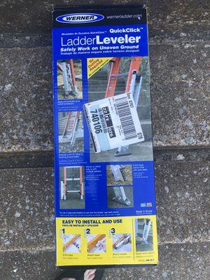 Werner ladder leveler for Sale in Nashville, TN