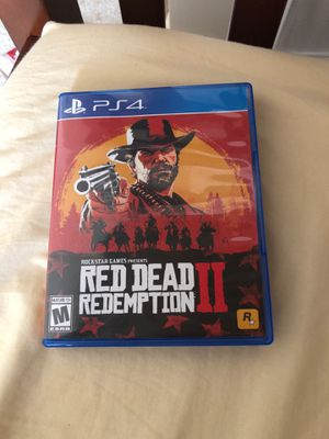 Red Dead Redemption 2 For PS4 Console for Sale in Silver Spring, MD