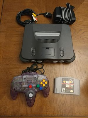 Nintendo 64 w/ controller and game for Sale in Middletown, CT