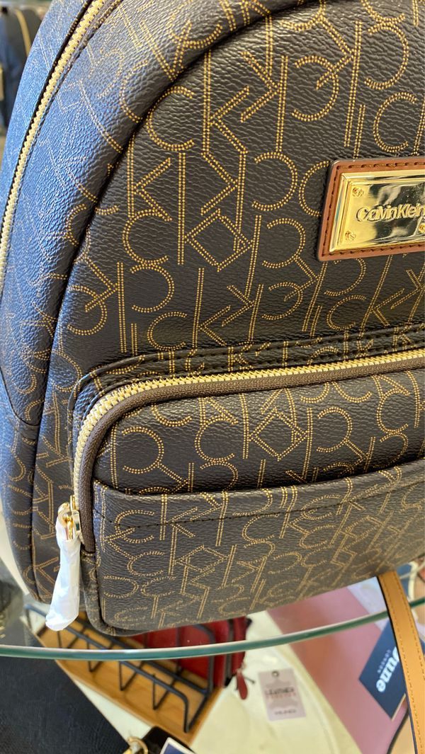 Calvin Klein backpack purse