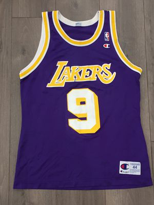 Nick Van Exel Lakers jersey champion 44 for Sale in Anaheim, CA