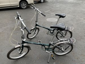Dahon folding bikes for Sale in Portland, OR