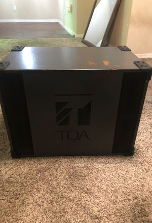 Toa sub woofer for Sale in Del Valle, TX