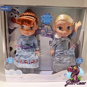 Disney Olaf's Frozen Adventure Singing Elsa & Anna for Sale in Carrollton, TX