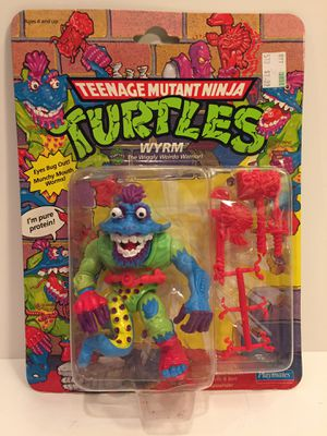 1991 Wyrm - MOC NEW - TMNT Teenage Mutant Ninja Turtles - Vintage Action Figure Toy for Sale in Naperville, IL