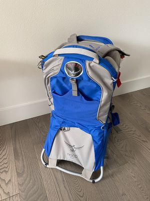 osprey poco plus hiking kid child carrier backpack for Sale in Bellevue, WA