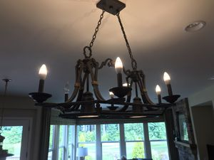 Light fixture for over your kitchen island for Sale in Redmond, WA