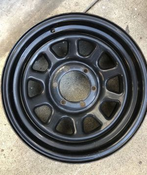 """16x8"""" 6x5.50 bolt Pattern for Chevy,GMC,Toyota,Nissan (1rim only) for Sale in Pico Rivera, CA"""