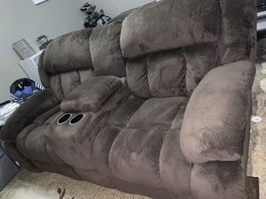 Double recliner for Sale in Fitzgerald, GA