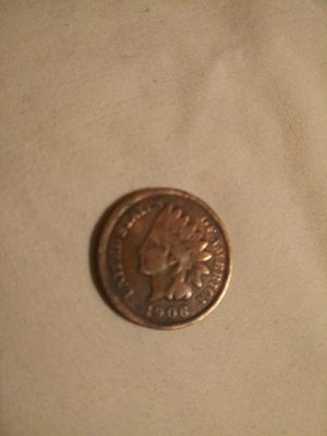 1906 indian head penny for Sale in Acampo, CA