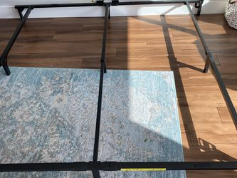 Bed Frame With Spring Boxes: King Size for Sale in Sunnyvale,  CA