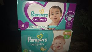 Pampers baby dry only for Sale in Murfreesboro, TN