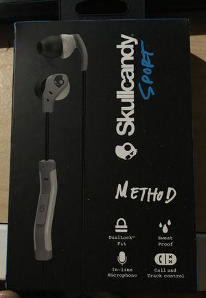 Skullcandy Method sport earbud for Sale in Columbus, OH