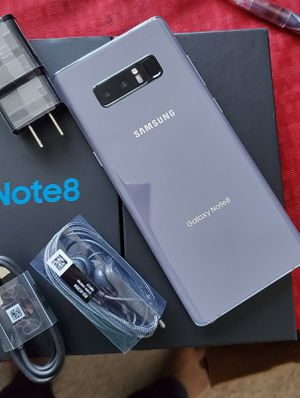 """Samsung Galaxy Note 8,, """"Factory Unlocked Condition Excellent"""" (Like Almost New) for Sale in Springfield, VA"""