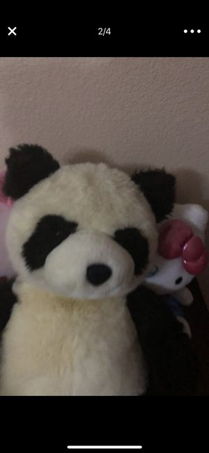 Panda stuffed animal excellent condition for Sale in Poway, CA