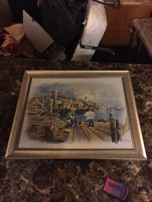 16x20 home interior decoration with frame for Sale in Irving, TX