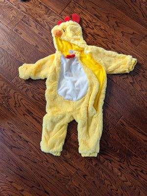 Chicken costume baby infant 0-6mo for Sale in Tualatin, OR