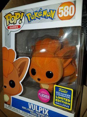 Funko pop Vulpix sdcc flocked pokemon games for Sale in Ontario, CA
