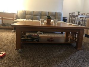 Wooden Coffee Table for Sale in Langhorne, PA