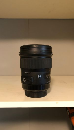 Sigma Art 24mm 1.4 for Sale in Portland, OR