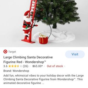 Super Clibming Santa for Sale in Rancho Cucamonga, CA